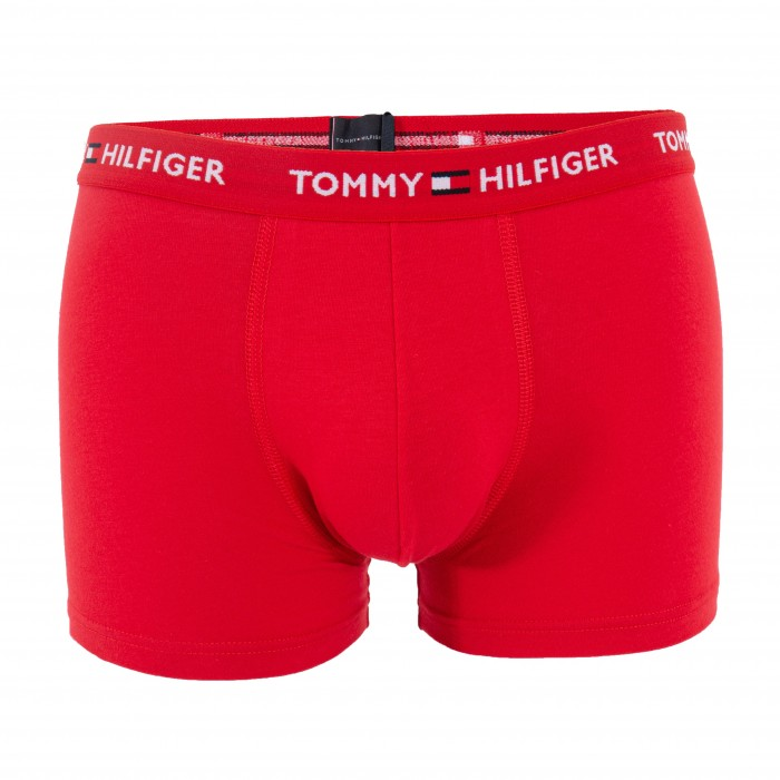Logo Organic Cotton Trunks - red - TOMMY HILFIGER UM0UM01659-XLG