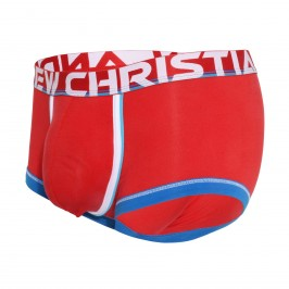 CoolFlex Active Modal Boxer w/ Show-It - rouge - ANDREW CHRISTIAN 91641-RED