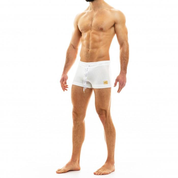 Smooth Knit - Boxer gris - MODUS VIVENDI 09022 WHITE