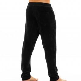 Smooth Knit - Pantalon velours noir - MODUS VIVENDI 09062 BLACK