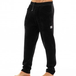 Smooth Knit - Pantalon velours gris - MODUS VIVENDI 09062 BLACK
