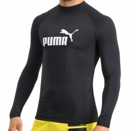 PUMA Swim Long Sleeve Rash Guard - black -  100000035-200