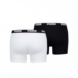 Basic Boxer Shorts 2 Pack - white and black - PUMA 521015001-301