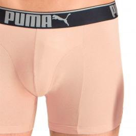 Lifestyle Sueded Cotton Boxershorts 3er Pack - rose water - PUMA 681030001-001