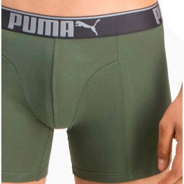Lifestyle Sueded Cotton Boxershorts 3er Pack - army green - PUMA 681030001-002