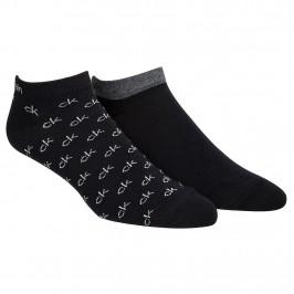 Lot de 2 paires de socquettes de trainer - noir -  100001762-001