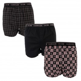 3 Pack Slim Fit Boxers - CK ONE - CALVIN KLEIN NB3000A-9VE