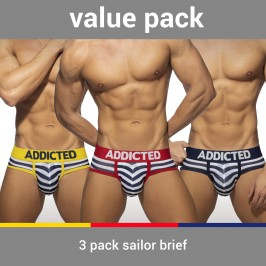 Slip Sailor - Lot de 3 - ADDICTED AD964P 3COL