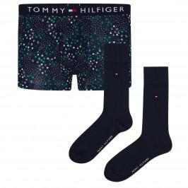 Stretch Cotton Trunks And Socks Set - TOMMY HILFIGER UM0UM01996-0ST