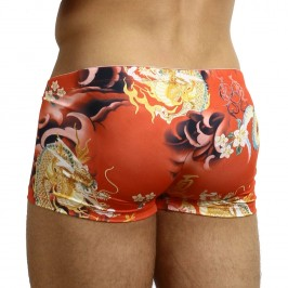 Push Up Trunks Red Garuda - L'HOMME INVISIBLE MY14-GAR-009