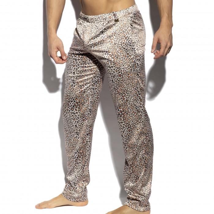 Pantalon lounge léopard - ES COLLECTION UN450-C13