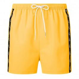 Short de bain Drawstring - jaune - CALVIN KLEIN KM0KM00556-ZFK