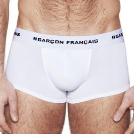 White Trunk Essential - GARÇON FRANÇAIS SHORTY12 BLANC PACK