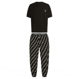 Pants Pyjama Set - CK One black - CALVIN KLEIN NM1787E-KLK