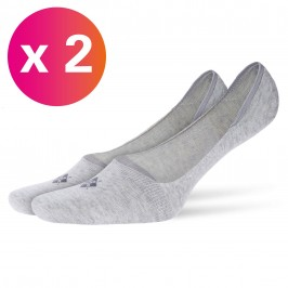 Protège-pieds Everyday 2-Pack gris - BURLINGTON 21056-3400