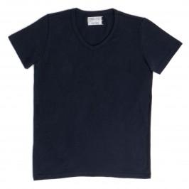 T-shirt V Marine - GARÇON FRANÇAIS TSHIRT20 BLEU MARINE V