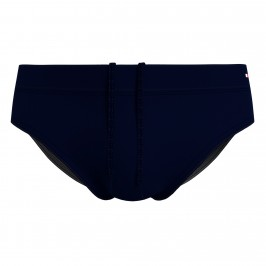 Recycled Nylon Drawstring Swim Briefs - navy - TOMMY HILFIGER UM0UM02102-DW5