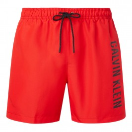 Medium Drawstring - bobby blue swim shorts red - CALVIN KLEIN KM0KM00570-XND