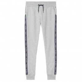 Curly cotton sweatpants - gris - TOMMY HILFIGER UM0UM00706-004