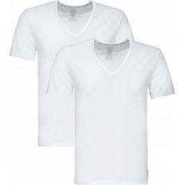 Lot de 2 t-shirts d'intérieur Modern Cotton - blanc - CALVIN KLEIN NB1089A-100