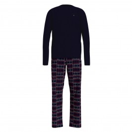 Long Sleeve Pyjama Set - navy - TOMMY HILFIGER UM0UM01961-0SQ