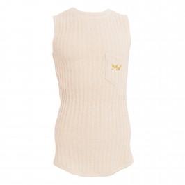 Débardeur knitted - ivory - MODUS VIVENDI 07141-IVORY
