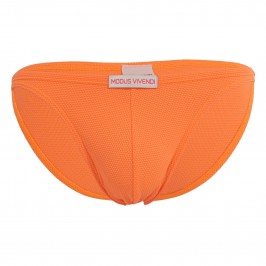 Mini slip de bain corn pique - orange - MODUS VIVENDI CS2111-NEON ORANGE