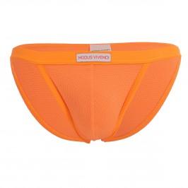 Tanga de bain corn pique - orange - MODUS VIVENDI CS2112-NEON ORANGE
