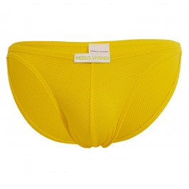 Mini slip de bain corn pique - yellow - MODUS VIVENDI CS2111-YELLOW