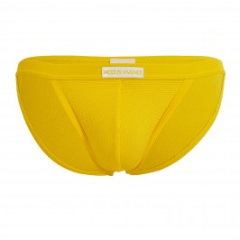 Tanga de bain corn pique - yellow - MODUS VIVENDI CS2112-YELLOW