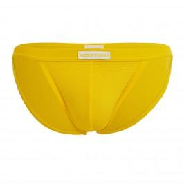 Tanga de bain corn pique - yellow - MODUS VIVENDI CS2112-YELLOW