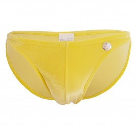 Mini slip de bain pure velvet - yellow - MODUS VIVENDI ES2111-YELLOW