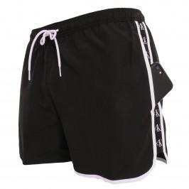 Runner - black swim shorts - CALVIN KLEIN KM0KM00555-BEH