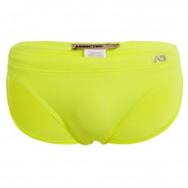 Mini slip de bain Néon - jaune - ADDICTED ADS284-C31