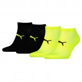 2-Pack Performance Train Light Socks - yellow and black - PUMA 271003001-385