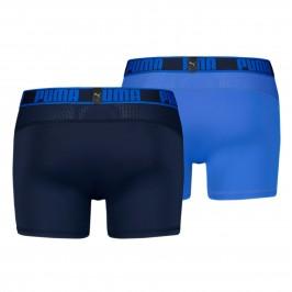 Lot de 2 boxeurs Active - bleu - PUMA 671017001-003