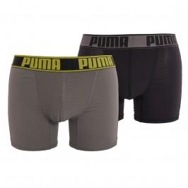 Pack de 2 bóxers Active - gris y negro - PUMA 671017001-319