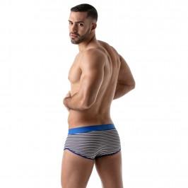 Boxer Stripes Push-Up Bleu - TOF PARIS TOF100BU