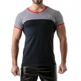 T-Shirt Stripes Rouge - TOF PARIS TOF114BUR