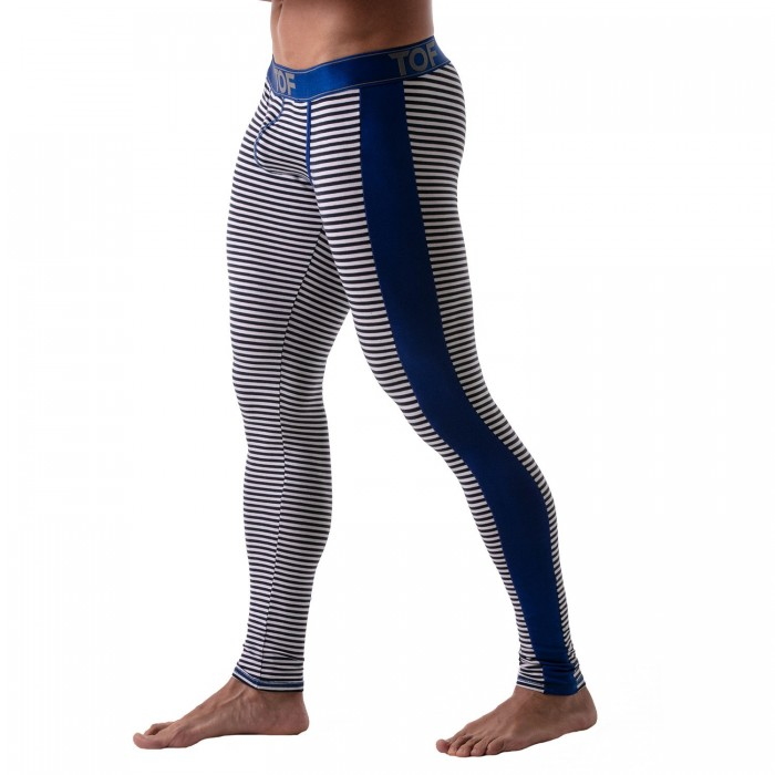 Leggings Stripes Bleu - TOF PARIS TOF110BU