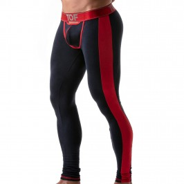 Leggings Bottomless Open Push-Up Rouge - TOF PARIS TOF111BUR