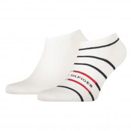 2-Pack Breton Stripe Trainer Socks - TOMMY HILFIGER 100002211-001
