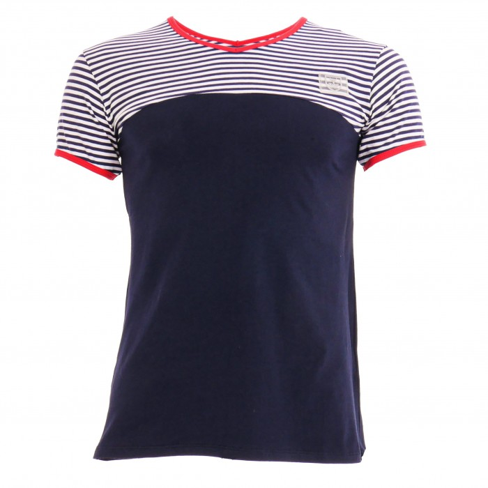 T-Shirt Stripes Rouge - TOF PARIS TOF114BUR
