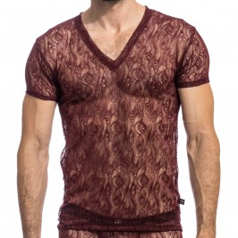 Enzo - Tee Shirt Col V - L'HOMME INVISIBLE MY73-ENZ-148