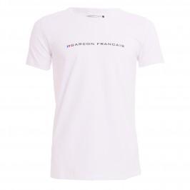 Le t-shirt marine - GARÇON FRANÇAIS TSHIRT21-BLANC