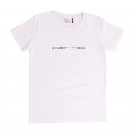 Le t-shirt blanc - GARÇON FRANÇAIS TSHIRT21-BLANC