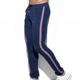 Pantalon sport FIT TAPE - marine - ES COLLECTION SP209-C09
