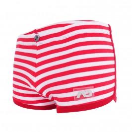 Short Sailor velours - rouge - ADDICTED AD969-C06
