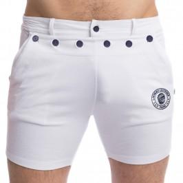 Matelot - White Shorts - L'HOMME INVISIBLE HW159-MAT-002