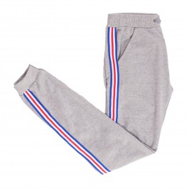 Pantalon sport FIT TAPE - marine - ES COLLECTION SP209-C11